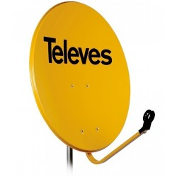 Antena satelitarna Televes 800Fe Pomarańczowa