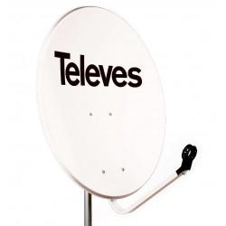 Antena satelitarna Televes 800Fe Biała