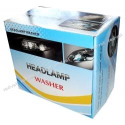 Uniwersalny zestaw spryskiwaczy lamp przednich do samodzielnego montażu HeadLamp Washer