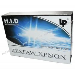 Zestaw żarówek Xenonowych HID H4 hi/low 6000K (elektromagnes) URZ0266 Superpłaski