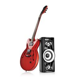 Przenośny głośnik Bluetooth GoGEN BPS626 z funkcją karaoke oraz zasilaniem akumulatorowo sieciowym