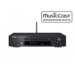 Odtwarzacz CD Yamaha CD-NT670 z funkcjami sieciowymi i systemem MusicCast