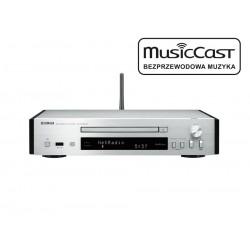 Odtwarzacz CD Yamaha CD-NT670D z DAB i funkcjami sieciowymi i systemem MusicCast