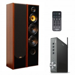 Zestaw stereofoniczny Yamaha WXA-50 MusicCast + kolumny Taga Harmony TAV-606F v.3
