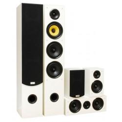 Kolumny głośnikowe Taga Harmony model TAV-506 v.2 BIAŁE, system 5.0