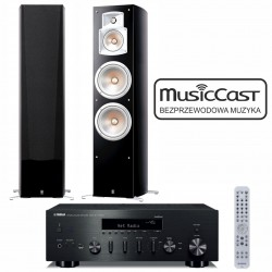 Zestaw stereofoniczny Yamaha R-N602 MusicCast + kolumny Yamaha NS-777