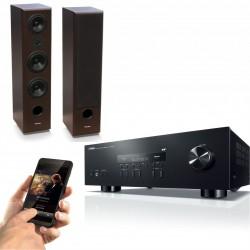 Zestaw stereofoniczny Yamaha R-S202D + kolumny Tonsil MAESTRO II 180