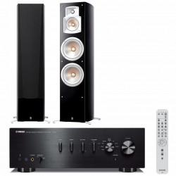 Zestaw stereofoniczny Yamaha A-S501 + kolumny Yamaha NS-777 + Bluetooth!