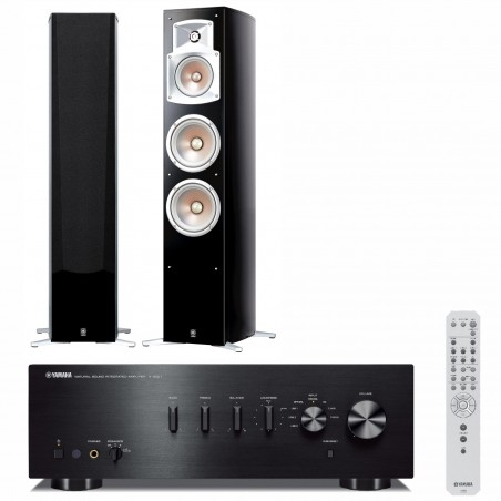 Zestaw stereofoniczny Yamaha A-S501 + kolumny Yamaha NS-555 + Bluetooth!