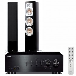Zestaw stereofoniczny Yamaha A-S701 + kolumny Yamaha NS-555 + Bluetooth!