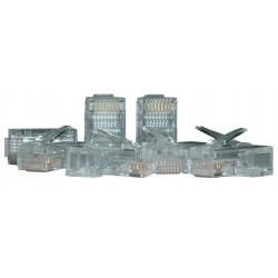 ASSMANN Wtyk RJ45 kat.6 uniwersalny drut|linka 8P8C 100szt