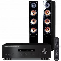 Zestaw stereo Yamaha A-S201 + kolumny głośnikowe Pure Acoustics Nova 8
