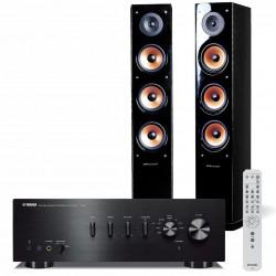 Zestaw stereo Yamaha A-S501 + kolumny głośnikowe Pure Acoustics Nova 8