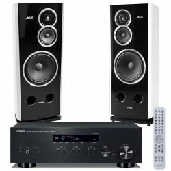 Zestaw stereofoniczny Yamaha R-N303D + kolumny Tonsil Altus 280, Hi-End z MusicCast i tunerem DAB+