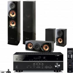 Zestaw kina domowego Yamaha RX-V485 + kolumny Pure Acoustics Nova 6, system 5.0