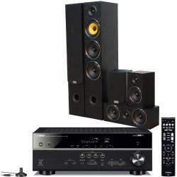 Yamaha RX-V485 + Taga Harmony TAV-506 v.2 Zestaw kina domowego system 5.0