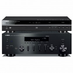 Sieciowy zestaw stereo Yamaha BD-S681 + R-N602 z systemem MusicCast
