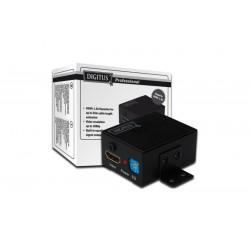 Digitus Wzmacniacz sygnału Repeater HDMI do 35m, 1080p 60Hz FHD 3D, HDCP passthrough