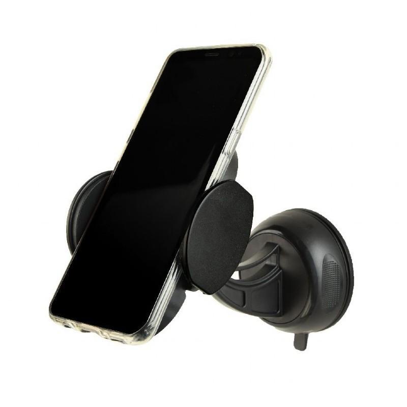 Gembird Uchwyt na smartfona z bezprzewodową ładowarką QI