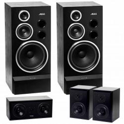 Kolumny głośnikowe TONSIL Altus 300 + Maestro II 100 + Maestro II 60 sat - system 5.0