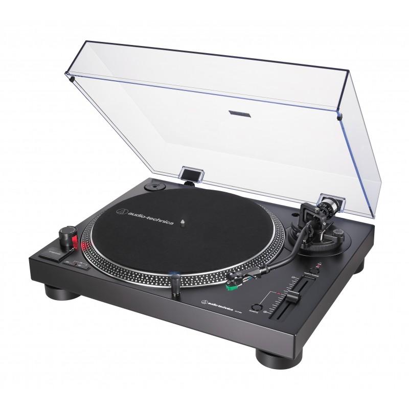 Gramofon Audio-Technica AT-LP120X-USB z napędem bezpośrednim i przedwzmacniaczem