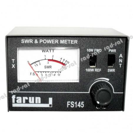 Reflektometr CB CRT SWR-1 Miernik SWR-MOC (FS145)