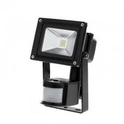 Reflektor LED 10W z sensorem ruchu i zmierzchu 3000K, URZ3366