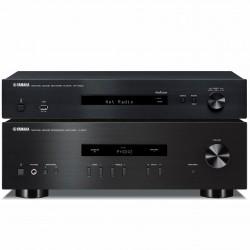 Zestaw stereo Yamaha A-S201 + odtwarzacz sieciowy Yamaha NP-S303 z MusicCast, Net Radio, WiFi, Bluetooth