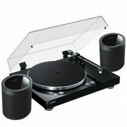 Gramofon Yamaha Vinyl 500 + 2x MusicCast 20 Zestaw stereo bezprzewodowy z MusicCast