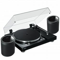 Zestaw stereo Yamaha z MusicCast gramofon Vinyl 500 + 2x głośniki bezprzewodowe MusicCast 20