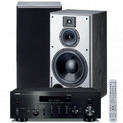 Zestaw stereofoniczny Yamaha R-N803D + kolumny Indiana Line DJ 310, z MusicCast, i DAB+, system 2.0