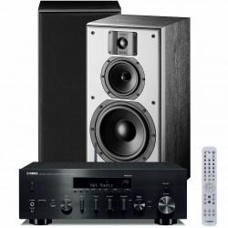 Zestaw stereofoniczny Yamaha R-N803D + kolumny Indiana Line DJ 308, z MusicCast, i DAB+, system 2.0