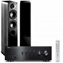 Zestaw stereofoniczny Yamaha A-S501 + kolumny Indiana Line Nota 550, system 2.0