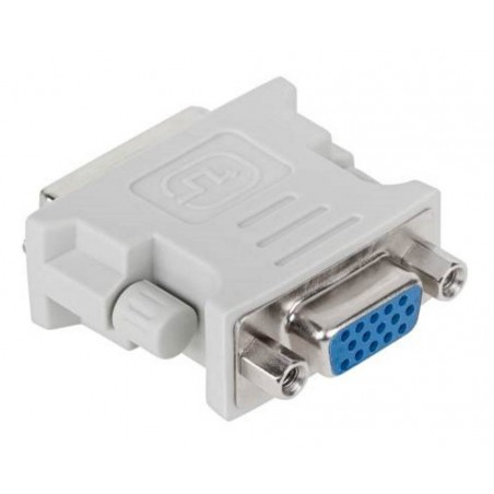 Złącze DVI wtyk (24+1) - VGA gniazdo (ZLA0609-2)