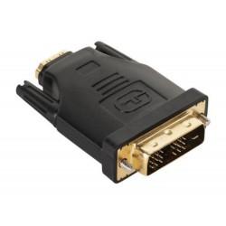Złącze HDMI gniazdo-DVI wtyk 18+1 (ZLA0613)