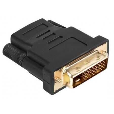 Złącze HDMI gniazdo-DVI wtyk 24+1 (ZLA0619)