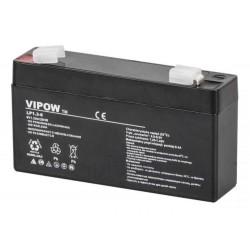 Akumulator żelowy VIPOW 6V 1.3Ah (BAT0203)