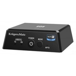 Odbiornik i Nadajnik Bluetooth HiFi Audio 2w1 ( Apt-X , NFC ) model BT-1 (KM0352)