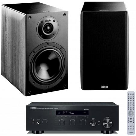 Zestaw stereofoniczny Yamaha R-N303D + kolumny Indiana Line Nota 260 z systemem MusicCast
