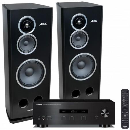 Zestaw stereofoniczny Yamaha A-S201 + kolumny Tonsil Altus 280