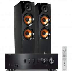 Zestaw stereofoniczny Yamaha A-S501 + kolumny Pure Acoustics Nova 6