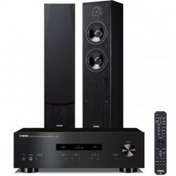 Zestaw stereofoniczny Yamaha A-S201 + kolumny Yamaha NS-F51 system 2.0