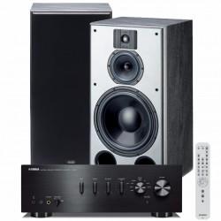 Zestaw stereofoniczny Yamaha A-S501 + kolumny podstawkowe Indiana Line DJ 310