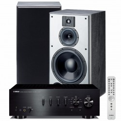 Zestaw stereofoniczny Yamaha A-S701 + kolumny podstawkowe Indiana Line DJ 310