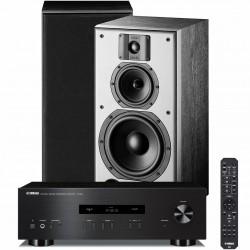 Zestaw stereofoniczny Yamaha A-S201 + kolumny podstawkowe Indiana Line DJ 308
