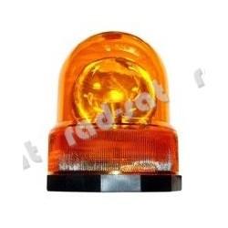 """Lampa ostrzegawcza """"Kogut"""", pomarańczowa, obrotowa na 12V"""