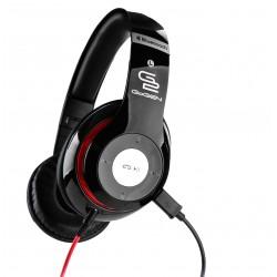Słuchawki GoGEN HBTM 41BR Bluetooth, Tuner FM, mikrofon, składane, Czarne