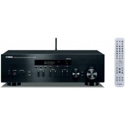 Amplituner sieciowy stereo YAMAHA R-N402D z systemem MusicCast i radiem cyfrowym DAB+