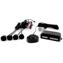 Zestaw czujników parkowania Vertex Buzzer, 4 sensory, kolor czarny