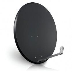 Antena satelitarna 90cm Fe Corab - szara